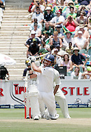 Ryan Sidebottom is bowled by Jean Paul (JP) Duminy to end the match during day 4 of the 4th Castle Test between South Africa and England held at The Bidvest Wanderers Stadium in Johannesburg, South Africa on the 17 January 2010.Photo by:  Ron Gaunt/SPORTZPICS