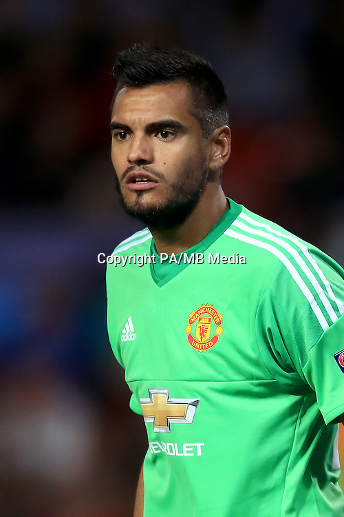Manchester United goalkeeper Sergio Romero