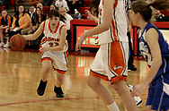 Beavercreek's Jaclyn Klaus (23) at the Girls Division I sectional basketball finals, held at Troy High School, Saturday afternoon.