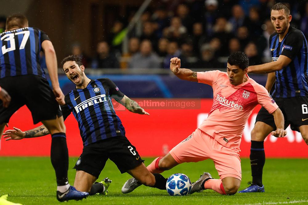 صور مباراة : إنتر ميلان - برشلونة 1-1 ( 06-11-2018 )  20181107-zaa-n230-032