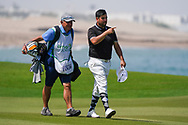 Joel Sjoholm (SWE) on the 9th during Round 3 of the Oman Open 2020 at the Al Mouj Golf Club, Muscat, Oman . 29/02/2020<br /> Picture: Golffile   Thos Caffrey<br /> <br /> <br /> All photo usage must carry mandatory copyright credit (© Golffile   Thos Caffrey)