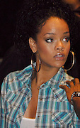 Singer Rihanna arrives for the Beyonce Experience Concert in Madison Square Garden on Saturday, August 4, 2007 in New York.