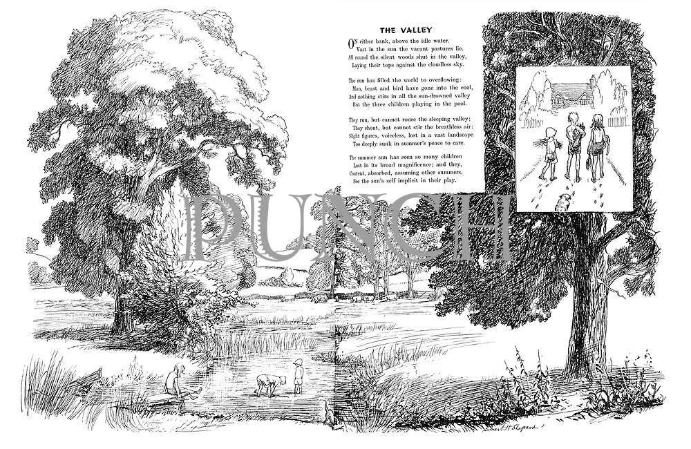 The Valley (illustrated poem).