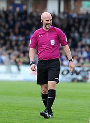 Referee, Kevin Johnson - Mandatory by-line: Neil Brookman/JMP - 14/04/2018 - FOOTBALL - Memorial Stadium - Bristol, England - Bristol Rovers v Blackburn Rovers - Sky Bet League One