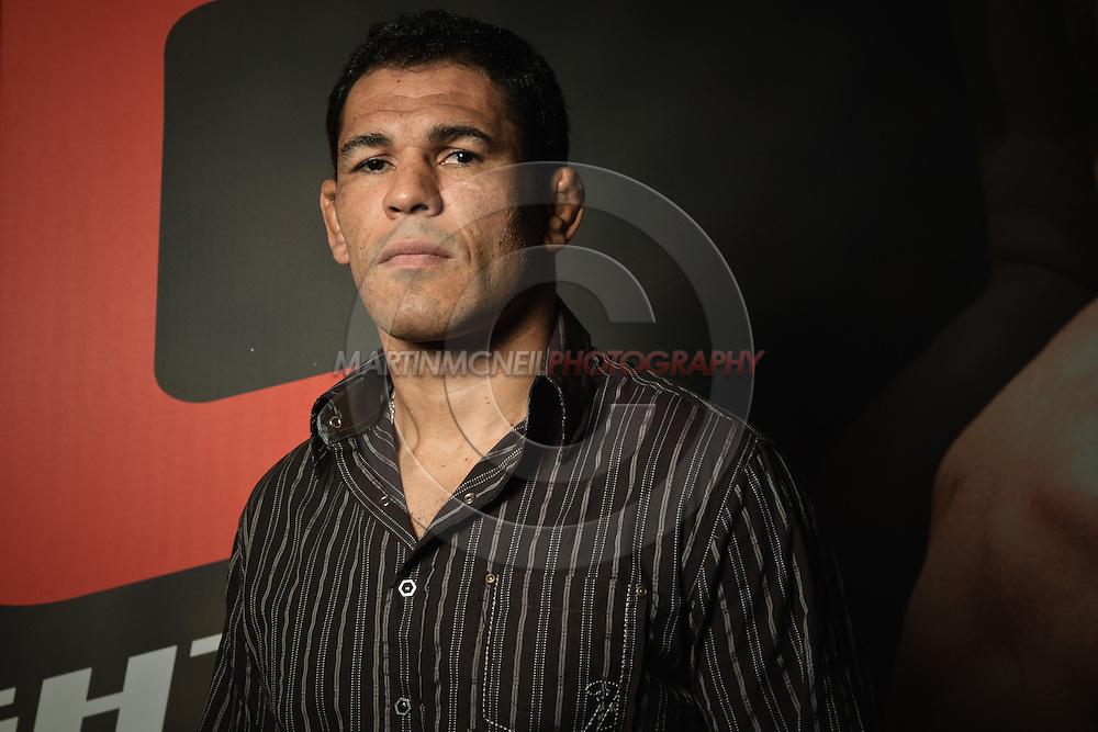 """A portrait of mixed martial arts athlete Antonio Rodrigo """"Big Nog"""" Nogueira"""
