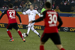 January 20, 2017 - Freiburg, Germany - Frank Ribery 7, Hofler Nicolas 27,  Gunter Christian 30, during the German first division Bundesliga football match SC Freiburg vs FC Bayern Munich in Freiburg, Germany, on January 20, 2017  (Credit Image: © Elyxandro Cegarra/NurPhoto via ZUMA Press)