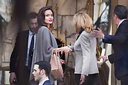 Angelina Jolie meets Brigitte Macron - 31 Jan 2018