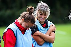 Gemma Evans and Loren Dykes of Bristol City Women during training at Failand - Mandatory by-line: Robbie Stephenson/JMP - 26/09/2019 - FOOTBALL - Failand Training Ground - Bristol, England - Bristol City Women Training