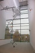 Mannheim. 08.11.17 | Zum Neubau Kunsthalle<br /> Innenstadt. Kunsthalle. Pressegespräch zum Neubau der Neuen Kunsthalle. Die Eröffnung der Neuen Kunsthalle im Dezember nur mit Skulpturen - keine Gemälde wegen technischen Verzögerungen.<br /> - Rebecca Horn<br /> <br /> <br /> <br /> BILD- ID 01569 |<br /> Bild: Markus Prosswitz 08NOV17 / masterpress (Bild ist honorarpflichtig - No Model Release!)