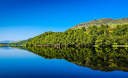Reflections in Loch Lubhair in the Trossachs, Scotland<br /> <br /> (c) Andrew Wilson | Edinburgh Elite media
