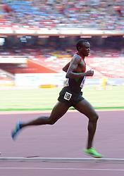 26-08-2015 CHN: IAAF World Championships Athletics day 5, Beijing<br /> Isiah Kiplangat Koech KEN during 5000 m<br /> Photo by Ronald Hoogendoorn / Sportida
