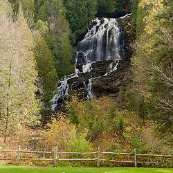 Beaver Brook falls in Colebrook, New Hampshire.