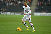 MK Dons striker Dean Bowditch during the Sky Bet Championship match between Milton Keynes Dons and Huddersfield Town at stadium:mk, Milton Keynes, England on 23 February 2016. Photo by Dennis Goodwin.