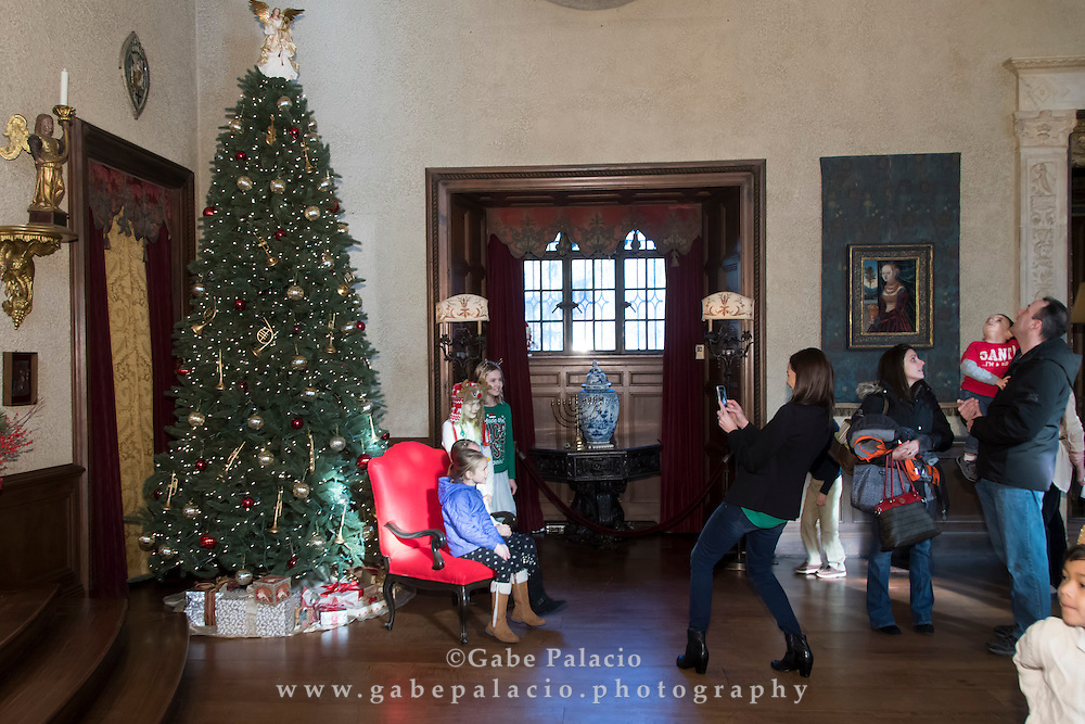 Holiday Tea Musicales in the Music Room of the Rosen House at Caramoor in Katonah New York on December 10, 2016. (photo by Gabe Palacio)