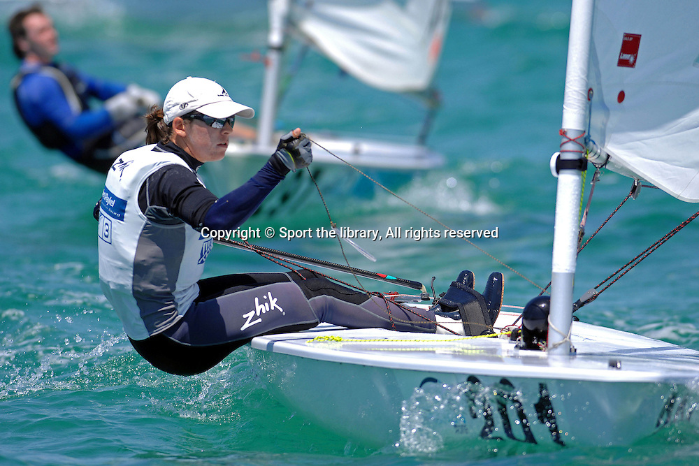 Jo ALEH (NZL)<br /> Sailing - 2008 Sail Melbourne<br /> 2008 Laser Radial Nationals<br /> Blairgowrie Yacht Club<br /> &copy; Sport the library / Jeff Crow
