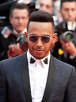 Lewis Hamilton at the gala screening for the film The Unknown Girl (La Fille Inconnue) at the 69th Cannes Film Festival, Wednesday 18th May 2016, Cannes, France. Photography: Doreen Kennedy
