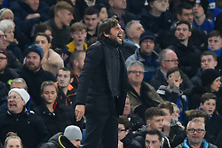 December 20, 2017 - London, England, United Kingdom - Chelsea Manager Antonio Conte is vocal during the Carabao Cup Quarter - Final match between Chelsea and AFC Bournemouth at Stamford Bridge, London, England on 20 Dec 2017. (Credit Image: © Kieran Galvin/NurPhoto via ZUMA Press)
