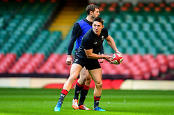 Josh Adams during the training session - Photo mandatory by-line: Ryan Hiscott/JMP - 29/10/2018 - RUGBY - Principality Stadium - Cardiff, Wales - Autumn Series - Wales Rugby Open Training Session