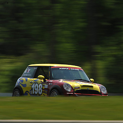 May 23, 2009; Lakeville, CT, USA; The RSR Racing Mini Cooper S qualifies for the Grand-Am Koni Sports Car Challenge series competition during the Memorial Day Road Racing Classic weekend at Lime Rock Park.