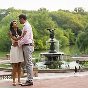 Jayanthi and Chidambaram - Central Park, NY