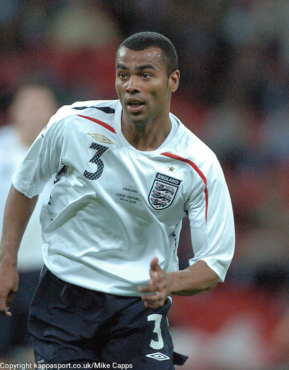ASHLEY COLE, ENGLAND, ENGLAND v CZECH REPUBLIC, International Friendly, Wembley Stadium Wednesday 20th August 2008