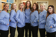 Updated headshots of the staff at McComie Family Dentistry © Dan Henry / BiciPhoto.com