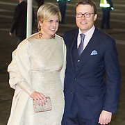 NLD/Rotterdam/20140201 - Beatrix met hart en ziel, Prins Constantijn en partner prinses Laurentien