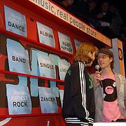 NLD/Amsterdam/20060312 - Uitreiking 3FM awards 2006, Optreden BLOF, jan Jaap van der Wal en Giel Beelen