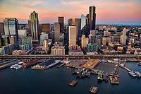 Seattle Waterfront & Washington State Ferry Terminal