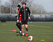 Sander Berge of Sheffield Utd during a training session at the Steelphalt Academy, Sheffield. Picture date: 5th March 2020. Picture credit should read: Simon Bellis/Sportimage