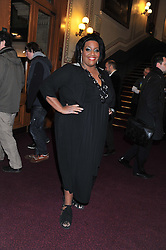 ALISON HAMMOND attends the premier of 2012 Cirque du Soleil's Totem at the Royal Albert Hall, London on 5th January 2012,