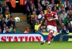 Aden Flint of Bristol City - Mandatory by-line: Robbie Stephenson/JMP - 23/09/2017 - FOOTBALL - Carrow Road - Norwich, England - Norwich City v Bristol City - Sky Bet Championship