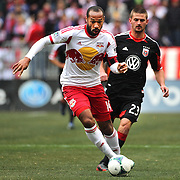 Thierry Henry, New York Red Bulls, in action during the New York Red Bulls V D.C. United, Major League Soccer regular season match at Red Bull Arena, Harrison, New Jersey. USA. 16th March 2013. Photo Tim Clayton
