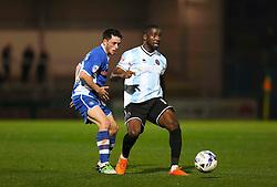 Ian Henderson of Rochdale in action - Mandatory byline: Matt McNulty/JMP - 07966386802 - 29/09/2015 - FOOTBALL - Spotland Stadium -Rochdale,England - Rochdale v Shrewsbury - SkyBet League One
