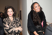 MOLLIE DENT-BROCKLEHURST; PRINCESS ALIA AL-SENUSSI, Panta Rhei. An exhibition of work by Keith Tyson. The Pace Gallery. Burlington Gdns. 6 February 2013.