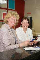 Sheffield MP Meg Munn gave her support to British Tourism Week by getting a taste of what it would be like working at The Park Inn Hotel on Blonk Street Sheffield where along side Reception Manger Nicola Carlin she was given the task of preparing key cards read for when visitors checked in on Friday..19the March 2010