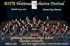 Hilliard Davidson High School Chamber Orchestra, March 18, 2011