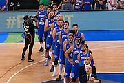 DESCRIZIONE: Torino FIBA Olympic Qualifying Tournament Italia - Tunisia<br /> GIOCATORE: TEAM ITALIA<br /> CATEGORIA: Nazionale Italiana Italia Maschile Senior<br /> GARA: FIBA Olympic Qualifying Tournament Italia - Tunisia<br /> DATA: 04/07/2016<br /> AUTORE: Agenzia Ciamillo-Castoria