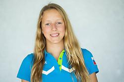 Tara Vovk, swimming during presentation of Slovenian Team for Baku 2015 European Games,  on June 4, 2015 in Koper, Slovenia. Photo by Vid Ponikvar / Sportida