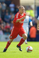 BIRKENHEAD, ENGLAND - Saturday, July 12, 2008: Liverpool's Jay Spearing during his side's first pre-season match of the 2008/2009 season against Tranmere Rovers at Prenton Park. (Photo by David Rawcliffe/Propaganda)