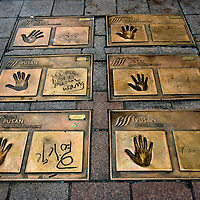 Film Festival Handprints in Busan, South Korea<br />