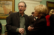 Ian McEwan and Barbara Epstein, The New York Review Of Books - 40th anniversary party, English Speaking Union, 13 October 2003. © Copyright Photograph by Dafydd Jones 66 Stockwell Park Rd. London SW9 0DA Tel 020 7733 0108 www.dafjones.com