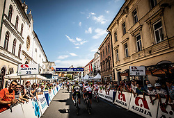 Finish line in Celje during 2nd Stage of 26th Tour of Slovenia 2019 cycling race between Maribor and Celje (146,3 km), on June 20, 2019 in  Slovenia. Photo by Vid Ponikvar / Sportida