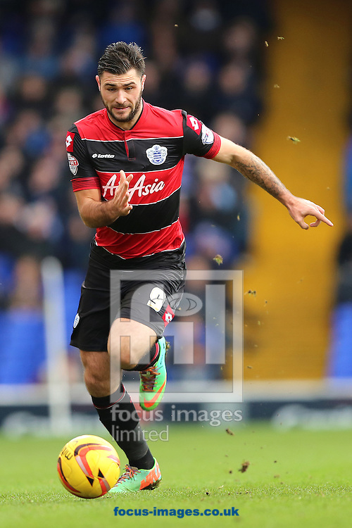 Picture by Richard Calver/Focus Images Ltd +447792 981244<br /> 11/01/2014<br /> Charlie Austin of Queens Park Rangers during the Sky Bet Championship match against Ipswich Town at Portman Road, Ipswich.