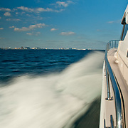 Boating near Miami