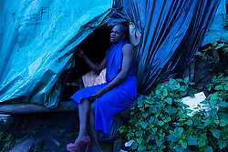 May 5, 2020 - Johannesburg, Gauteng, South Africa - A transgender sex worker explained her struggle to get client in this difficult time of Covid 19.  (Credit Image: © Manash Das/ZUMA Wire/ZUMAPRESS.com)