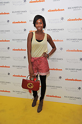 TOLULA ADEYEMI at a party to launch a range of SpongeBob SquarePants suits and accessories designed by Richard James in partnership with Nickelodeon held at Richard James, 29 Savile Row, London W1 on 11th May 2011.