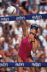 WPVA - Women Professional Volleyball - Austin, TX, 1995  - Holly McPeak -  Photo by Wally Nell/Volleyball Magazine