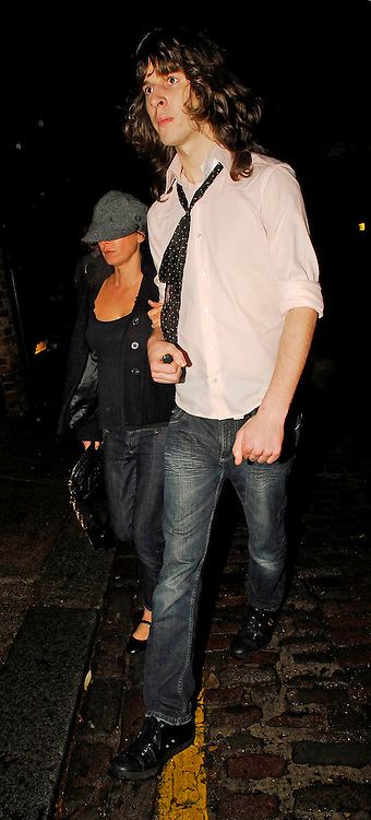 05.12.2007. LONDON<br /> <br /> SADIE FROST AND A MYSTERY YOUNG MAN ARRIVING AT A PRIVATE ADDRESS IN PRIMROSE HILL. THEY LEFT AT 3AM LOOKING A LITTLE WORSE FOR WEAR.<br /> <br /> BYLINE: EDBIMAGEARCHIVE.CO.UK<br /> <br /> *THIS IMAGE IS STRICTLY FOR UK NEWSPAPERS AND MAGAZINES ONLY*<br /> *FOR WORLD WIDE SALES AND WEB USE PLEASE CONTACT EDBIMAGEARCHIVE - 0208 954 5968*