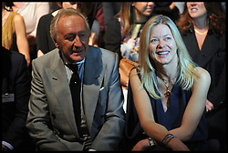 Harold Tillman and Lady Helen Windsor on the front row on the first day of the London 2012 Fashion Week, London, Friday September 14, 2012 Photo Andrew Parsons/i-Images..All Rights Reserved ©Andrew Parsons/i-Images